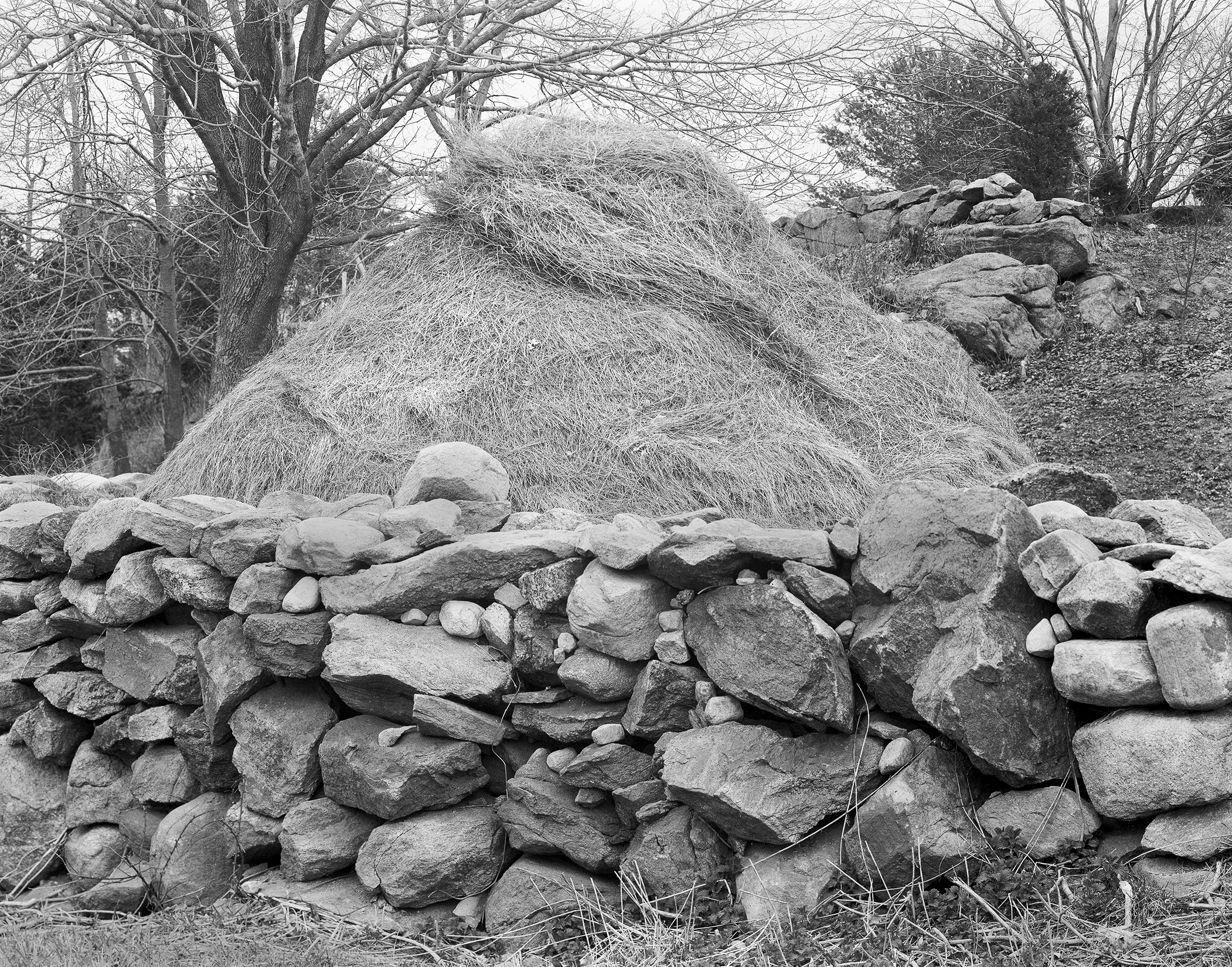 Haystack, Rock Wall, Connecticut, 1985